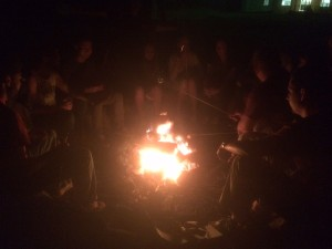 Senior Night Bonfire